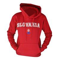 Mikina Slovakia kapuca červená 001bec6ad56