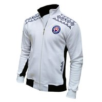 Mikina zips Čičmany bielo-modrá 050d4fc6f1b