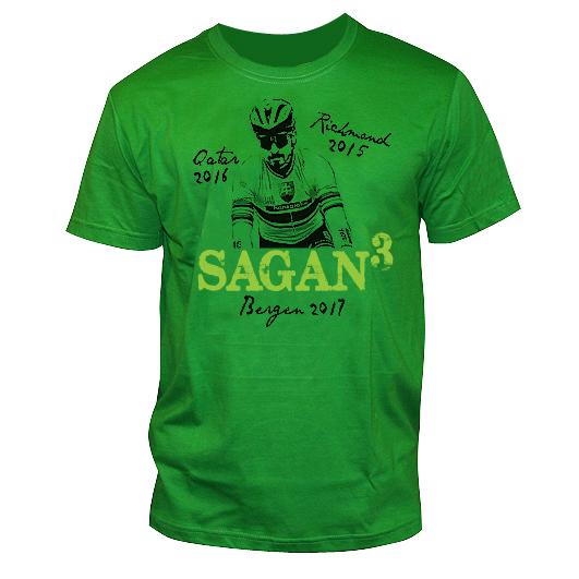 f0ac61b3cd6f8 Tričko Sagan zelené-XS