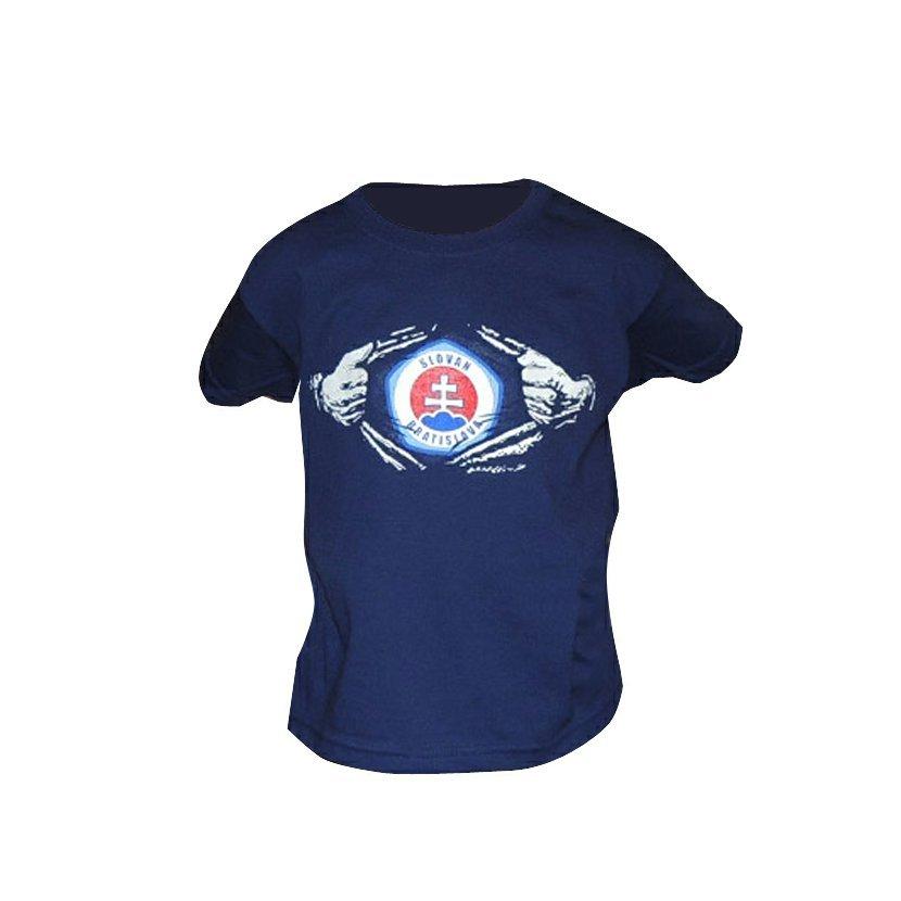 7e5878ce601ad ŠK Slovan Bratislava detské modré tričko 104 3-4