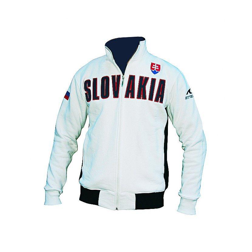 Mikina Slovakia bielo-modrá S 062465855a1