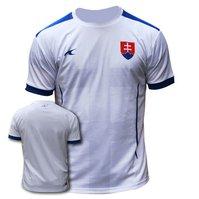 3feaa4d6a8887 Futbalový dres Slovensko biely s krížom